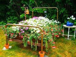 Garden flowerbed