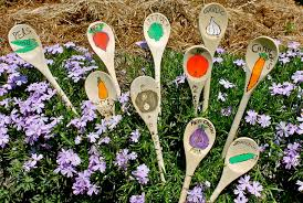 gardening-with-kids plant labels