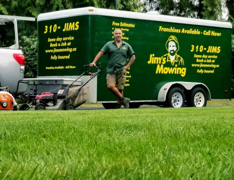 Gerry Paolino Lawn Mowing Maple Ridge