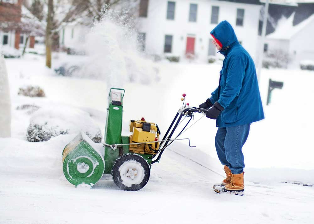 Jim's Mowing snow removal services