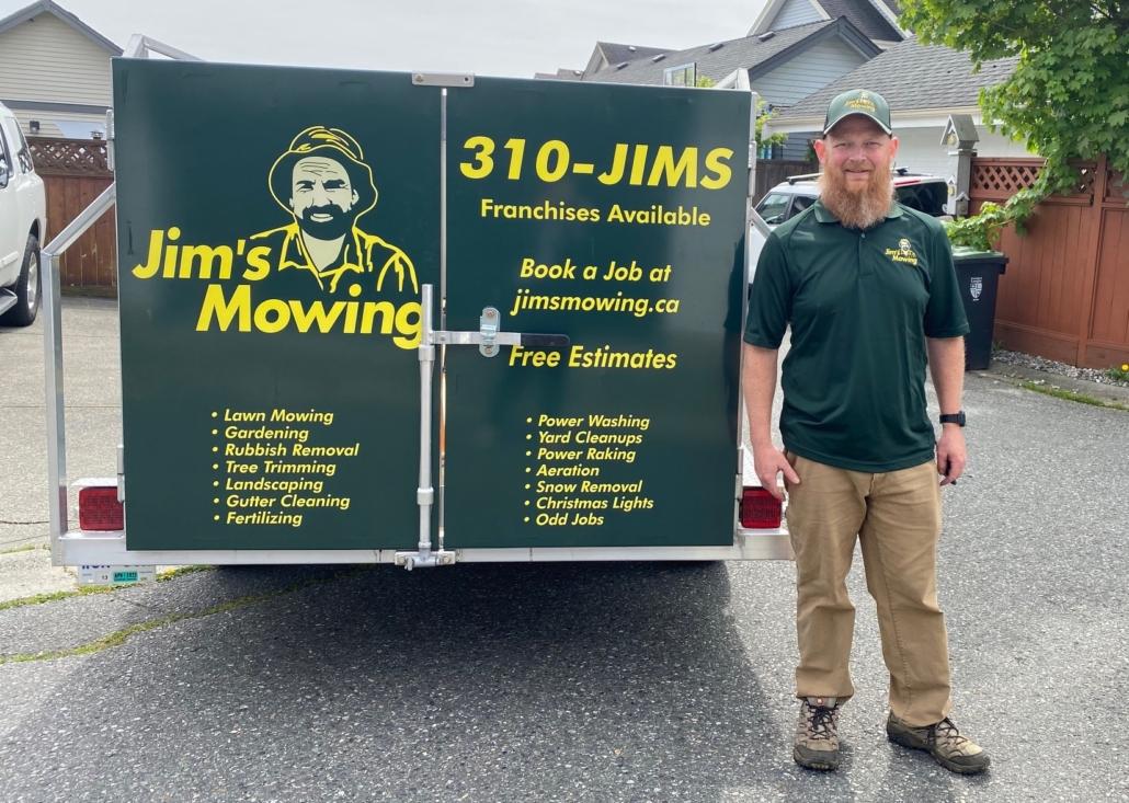 Bruce DeNiet - Langley Lawn Care Services